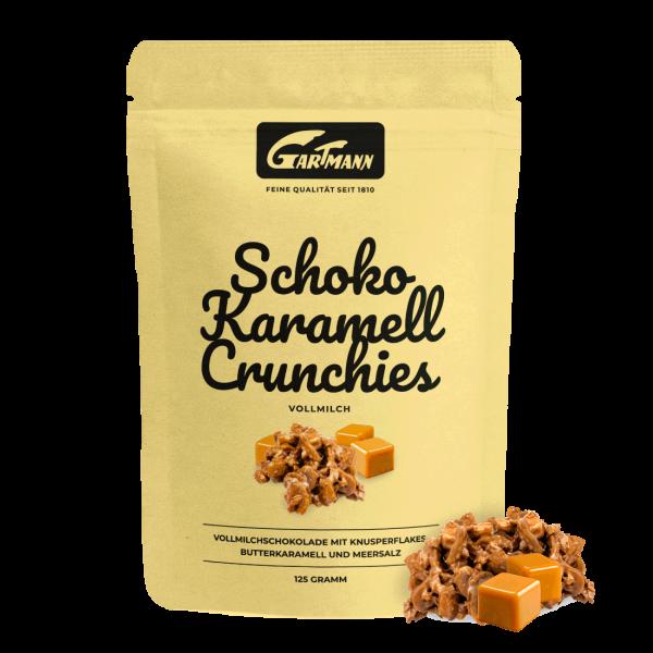 Gartmann Schoko Karamell Crunchies (125g Beutel)