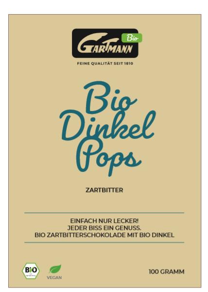 Bio Dinkel Pops von Gartmann
