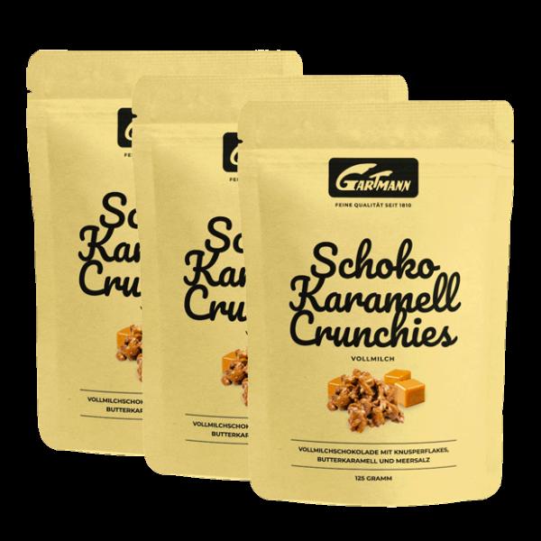 Gartmann Schoko Karamell Crunchies (8 x 125g Beutel)