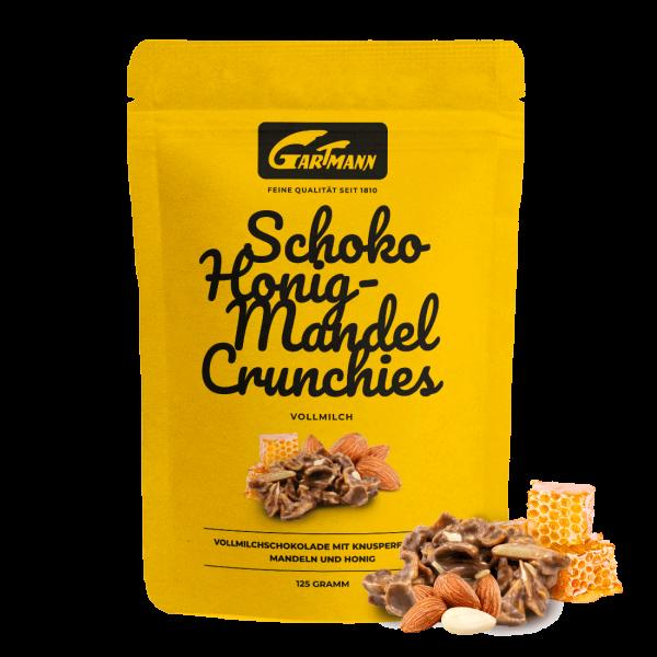 Gartmann Schoko Honig-Mandel Crunchies (125g Beutel)
